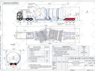 Схема автопоезда-ТС.SG500-NB-EURO-72-03Р.35.0719.000 C7 (25.07.2019)
